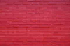 Close up of a red brick wall stock photo
