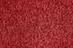 Close Up Red Carpet Background. Macro Close Up Red Carpet Background Texture Royalty Free Stock Photo