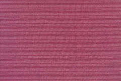 Close up of Red Fabric Texture Royalty Free Stock Images