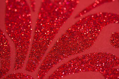 Red Glitter Royalty Free Stock Photo