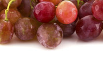 Close up of red grapes Royalty Free Stock Photography