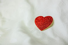 Close-up red heart Royalty Free Stock Photography