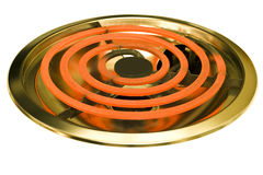 Close Up Red Hot Stove Burner Stock Photos