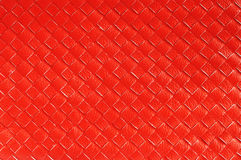 Close up of Red leather Stock Photo