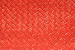 Close up of Red leather Royalty Free Stock Images