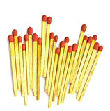 Close-up of a red match Royalty Free Stock Images