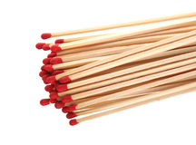 Close-up of a red matches Royalty Free Stock Images