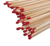 Close-up of a red matches Stock Photos