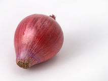 Close up of red onions. Close up of some red onions Royalty Free Stock Image