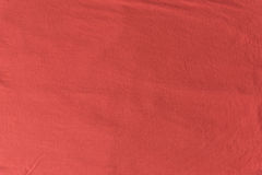 Close up red/pink fabric texture. Background Royalty Free Stock Images