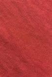 Close up red/pink fabric texture. Background Royalty Free Stock Photos