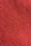 Close up red/pink fabric texture. Background Stock Photos