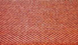 Close up red roof Stock Photos