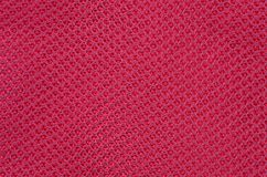 Textured synthetical background. Close up of red textured synthetical background Stock Photography