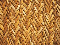 Close up reed mats pattern, as a background stock photo