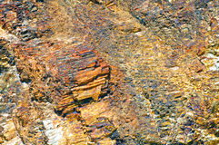 Close-up relief of the rocks Royalty Free Stock Photos