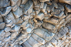 Close-up relief of the rocks Royalty Free Stock Image