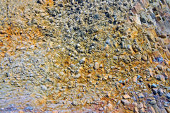 Close-up relief of the rocks Stock Photography