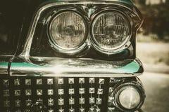 Close-up of retro car part Stock Photos