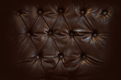 Close up retro chesterfield style, capitone textile Stock Images