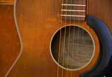 Close up  retro guitar Stock Photo