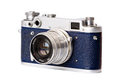 Close-up retro photo camera Royalty Free Stock Images