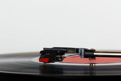 Close up of a retro record player Royalty Free Stock Image