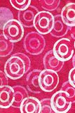Close up of retro tapestry fabric pattern Stock Images
