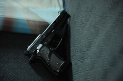 Close up of the revolver Stock Images