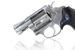 Close up of revolver Stock Image