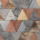 Close-up of rhombus pavement Stock Photo