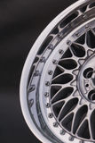 Close up of rims car alloy wheel. Sport wheels Stock Photos