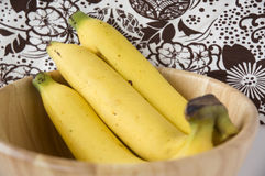 Close up rip banana Royalty Free Stock Photo