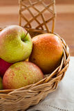 Close-up of ripe apples Stock Image