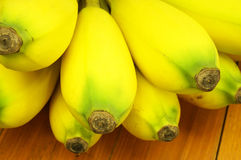 Close up ripe banana Stock Photography