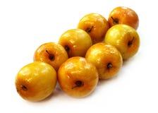 Close up of ripe juicy jujube fruits