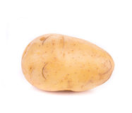 Close up of ripe potato. Stock Photos