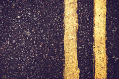 Close up road flagging Royalty Free Stock Photography