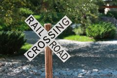 Close-up of Road Sign Stock Images