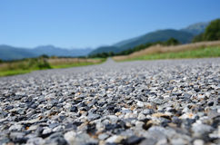 Close-up of the road surfacing Stock Images