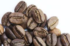 Close up Roasted Coffee Bean. Close-up roasted whole coffee bean Stock Photography