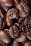 Close up of roasted coffee beans Royalty Free Stock Images