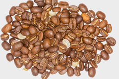 Close Up Of Roasted Coffee Beans Royalty Free Stock Image