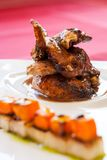 Close up of roasted duck. Royalty Free Stock Image