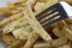 Close Up Roasted Parsnip Royalty Free Stock Photos