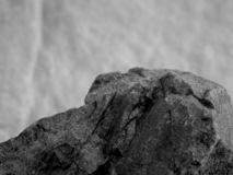 A Close Up of a Rock stock photo