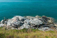 Close-up Rock at Phuket Island, Thailand Royalty Free Stock Photography