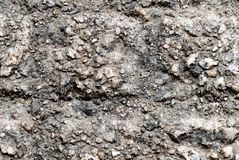 Close up rock texture background Royalty Free Stock Photography