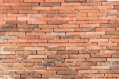 Close-up rode bakstenen muur Royalty-vrije Stock Foto
