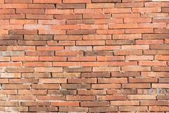 Close-up rode bakstenen muur Stock Foto's